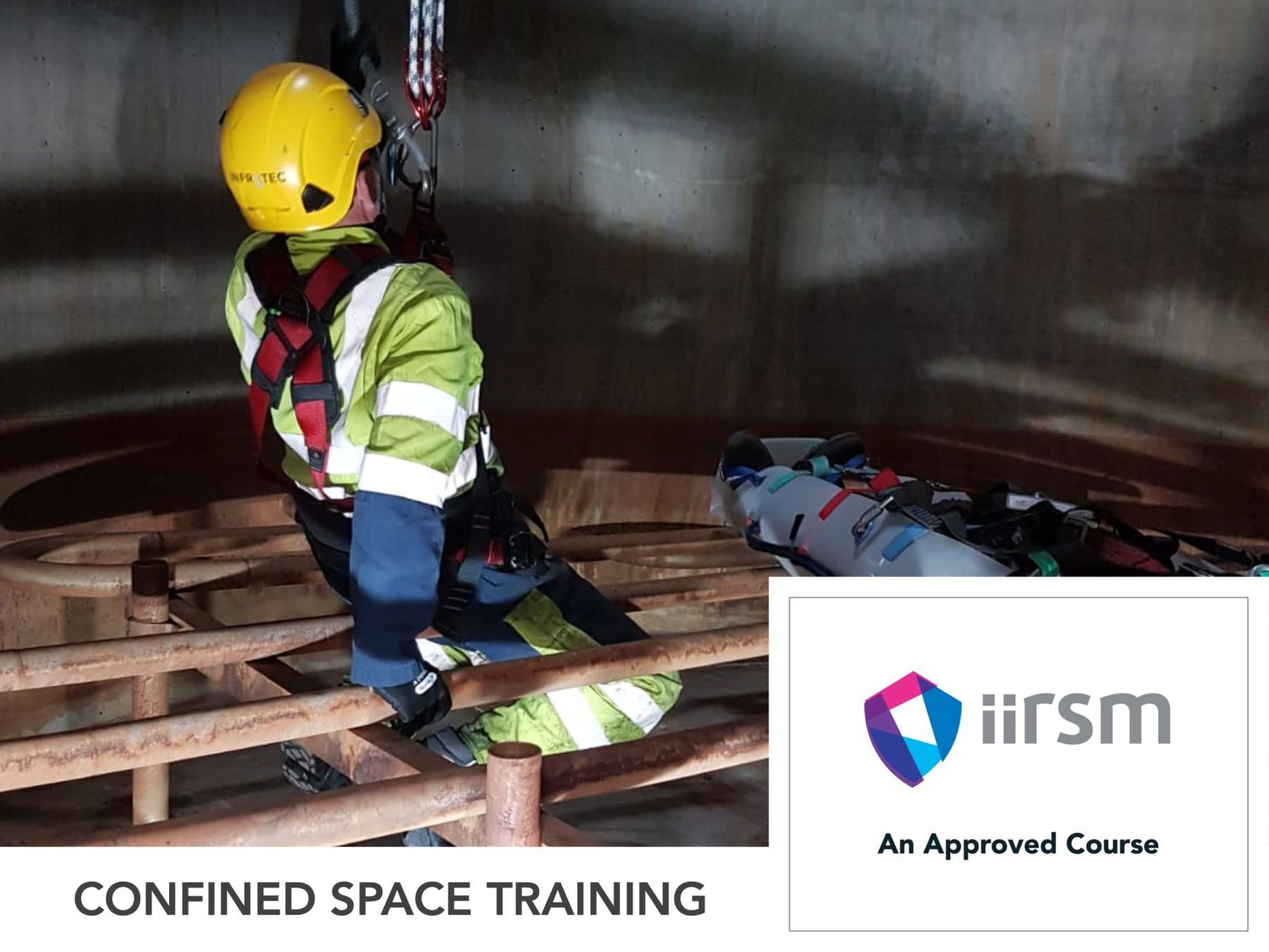 Confined Space Safe Entry & Self Rescue
