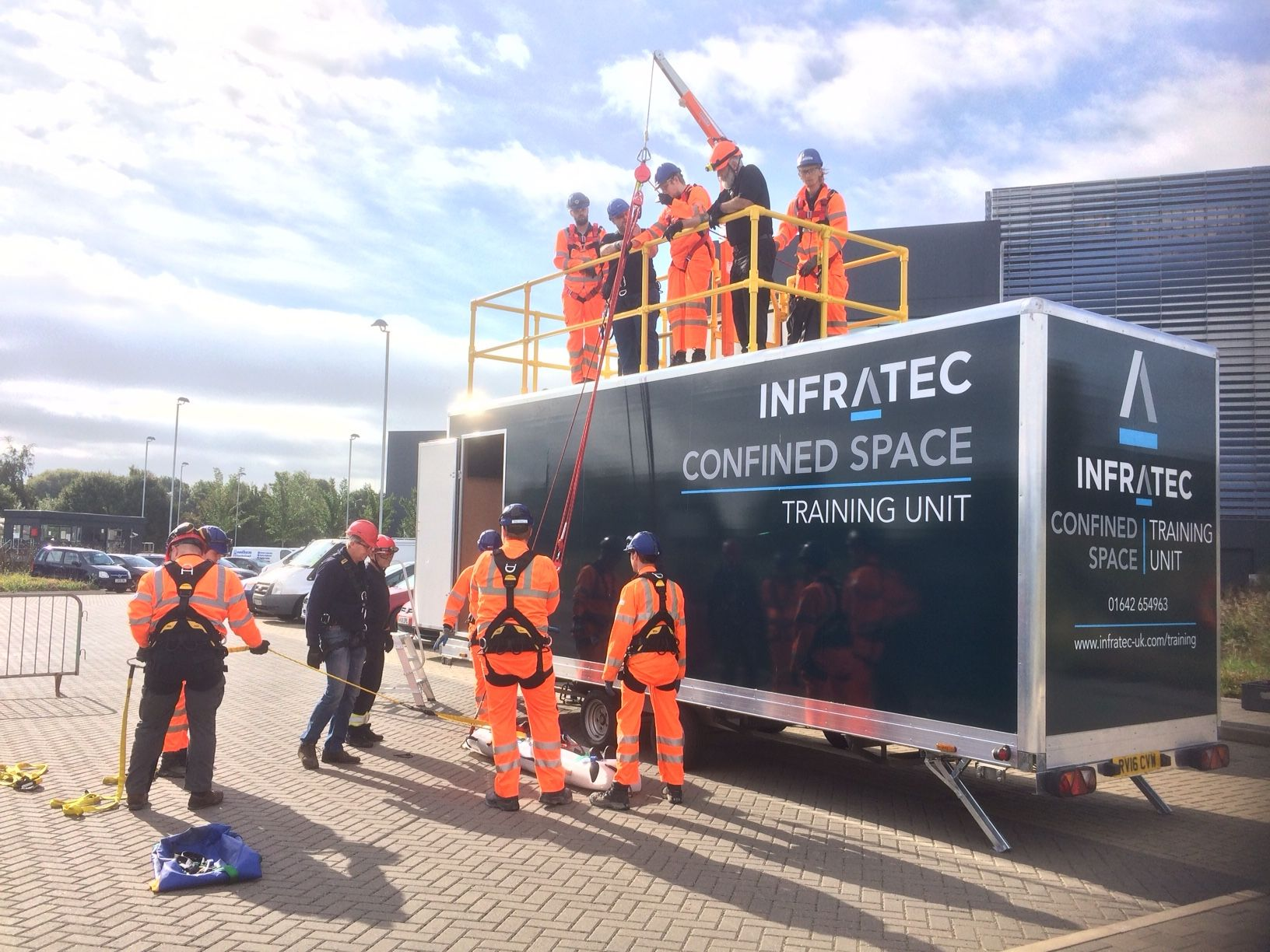 infratec confined space training unit